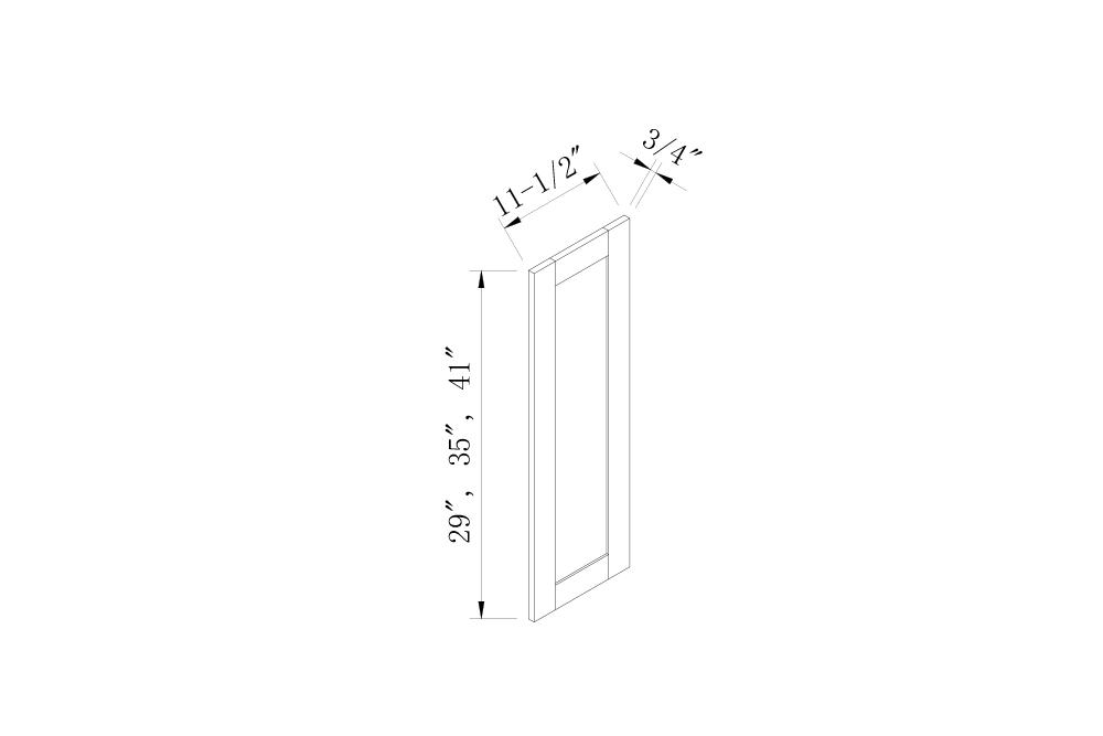 DUMMY & SAMPLE DOORS - Decorative False Doors